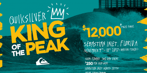 Quiksilver King of The Peak logo